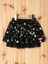 TULLE SKIRT STAR PRINT(2T)