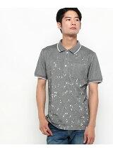 スプラッシュプリントポロシャツ