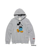 (M)【Mickey】GRAPHIC PO HOODIE