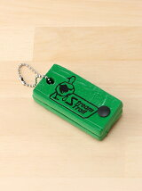 DUAL TYPE FLOATING TAG&KEY CHAIN【ネームタグ】GREEN