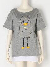ぶつぶつペンギンTシャツ