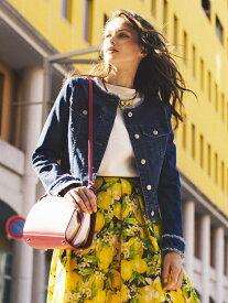 Viaggio Blu 【洗濯機可】【3サイズ展開】ノーカラーGジャン ビアッジョブルー コート/ジャケット テーラードジャケット ホワイト【送料無料】