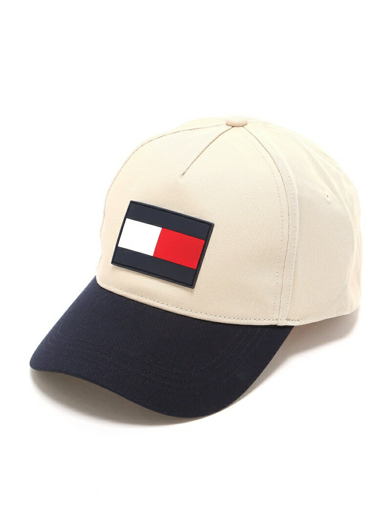 TOMMY HILFIGER (M)カラーブロックキャップ トミーヒルフィガー 帽子/ヘア小物【送料無料】