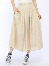 ランダムタックカラースカート