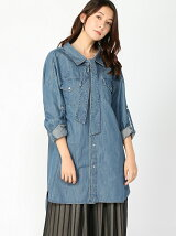 MIHARAYASUHIRO/DENIM W LAYER SHIRTS