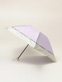 【SALE/30%OFF】SHIPS any w.p.c:パイソンミニパラソル シップス ファッショングッズ 日傘/折りたたみ傘 パープル ベージュ