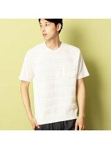 ニットコンビTシャツ