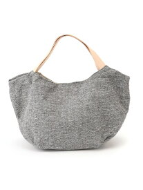 EARTH MADE (W)LEATHER HANDLE TOTE アースメイド バッグ トートバッグ グレー ネイビー イエロー【送料無料】