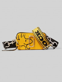 MARC JACOBS PEANUTS X MARC JACOBS THE SNAPSHOT マーク ジェイコブス バッグ バッグその他 イエロー ホワイト【送料無料】