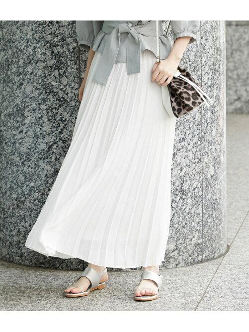 【ドラマ着用】プリーツロングスカート