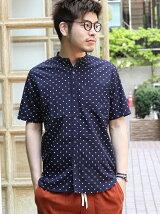 【C.MC】タイプライターバンドカラーシャツ