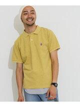 杢鹿の子ポロシャツ
