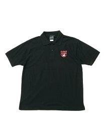 BEAMS T 【SPECIAL PRICE】BEAMS T / Emblem Bear Polo Shirt ビームスT カットソー ポロシャツ ブラック ネイビー【送料無料】