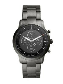 FOSSIL Q COLLIDER HYBRID SMARTWATCH HR フォッシル ファッショングッズ 腕時計 グレー【送料無料】