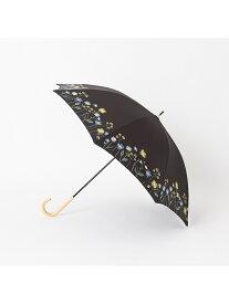 LOWELL Things ★長傘/フラワーブルーム ロウェル シングス ファッショングッズ 日傘/折りたたみ傘 ブラック
