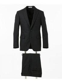 CK CALVIN KLEIN シルキーシャドウストライプスーツ CK カルバン・クライン ビジネス/フォーマル セットアップスーツ ブラック ネイビー【送料無料】