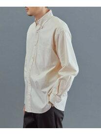 DOORS White Label 引き揃えOX ボタンダウンシャツ アーバンリサーチドアーズ シャツ/ブラウス シャツ/ブラウスその他 ホワイト ブラック【送料無料】