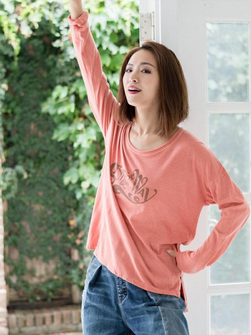 goa C/R GYPSY&the WAYプリントロングスリーブTシャツ【送料無料】