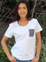 (W)コットンポケットTシャツ