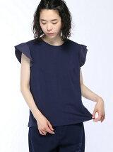 (W)袖切り替えTシャツ・カットソーPJ