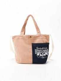 Rodeo Crowns RODEO CROWNS/CORDUROY SHOLDER BAG アスチュート バッグ トートバッグ ピンク ブラック ベージュ ブルー【送料無料】