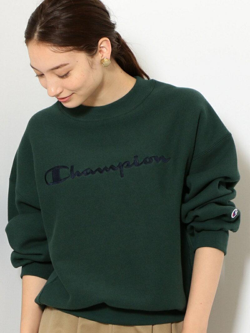【SALE/30%OFF】UNITED ARROWS green label relaxing [別注チャンピオン]SC Champion×GLR Reverse Weave モックネック スウェット ユナイテッドアローズ グリーンレーベルリラクシング カッ【RBA_S】【RBA_E】【送料無料】