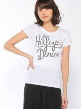 (W)Hilfiger Denim/ロゴTシャツ