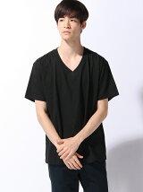 (M)【RED KAP】 Vネック 2PAC Tシャツ