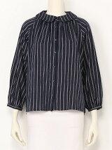 丸衿シャツ