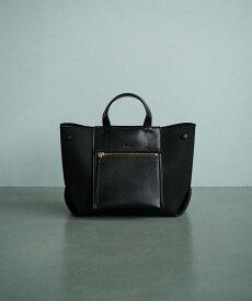 ROPE' 【E'POR】【公式サイト先行予約】【撥水】D BAG Medium ロペ バッグ ハンドバッグ ブラック グレー ホワイト ブラウン ベージュ カーキ【送料無料】