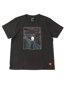 BEAMS T 【SPECIAL PRICE】BEAMS T / Scream Tee ビームスT カットソー Tシャツ ブラック ホワイト