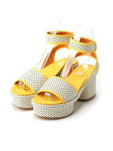 TINY DOTS LOW SANDAL