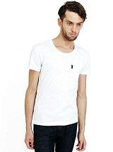 AKM/UネックポケットTシャツ