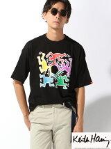 (M)キースヘリングTシャツ