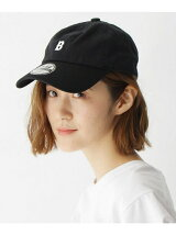 【ユニセックス】B刺繍 ツイルローキャップ33023
