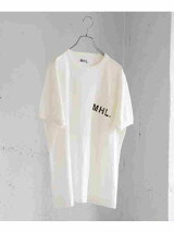 【予約】MHL.×URBAN RESEARCH 別注PRINTED T-SHIRTS