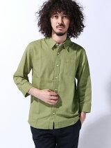 (M)ZIP FIVE レギュラーカラー7分袖 + 半袖パナマシャツ