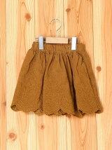 シャツコール刺繍スカート