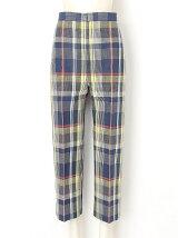 paper madras pants