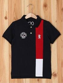 【SALE/60%OFF】GIORDANO (K)ブリティッシュデザインポロシャツ ジョルダーノ カットソー キッズカットソー ネイビー ホワイト レッド
