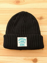 X-girl×BURGER RECORDS KNIT CAP
