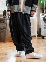 Tweed wide slacks