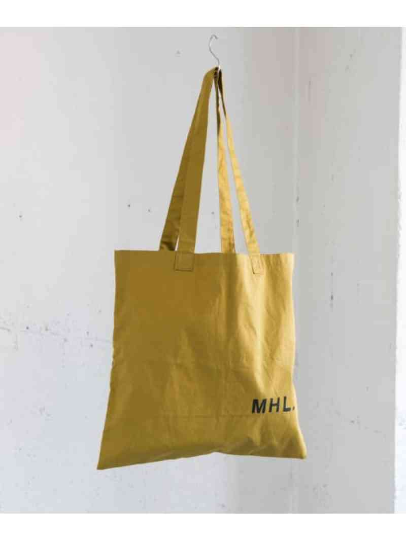 URBAN RESEARCH MHL.×URBAN RESEARCH LIGHT COTTON DRILL BAG アーバンリサーチ バッグ【送料無料】