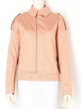 finx cotton satinfrench flight jacket