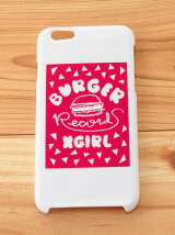 X-girl×BURGER RECORDS MOBILE CASE