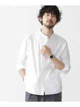 異素材ポケットシャツ
