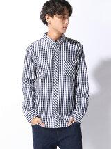 (M)カラーギンガムチェックBDシャツ