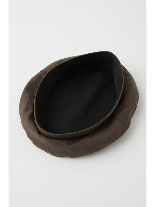 LINEN COTTON BASIC BERET