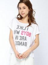 (W)ドルマンロゴTシャツ・カットソー2Y
