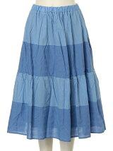 [アウトレット]ドビーチェック柄スカート
